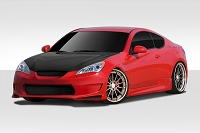 2010-2012 Hyundai Genesis 2DR Duraflex AM-S GT Body Kit - 4 Piece - Includes AM-S GT Front Bumper Cover (109594) AM-S GT Side Skirt Rocker Panels (109595) AM-S GT Rear Bumper Cover (109596)