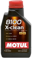 Motul 1L Synthetic Engine Oil 8100 5W30 X-CLEAN Plus