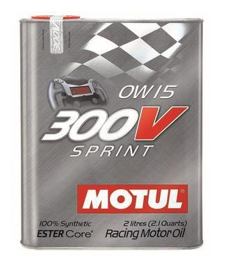 Motul 2L Synthetic-ester Racing Oil 300V POWER RACING 5W30