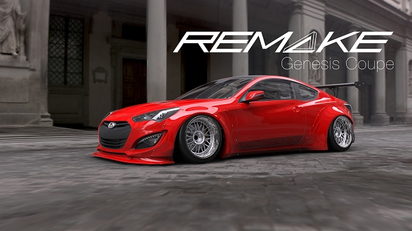 Remake Hyundai Genesis Coupe Wide Body Kit By Kei Miura