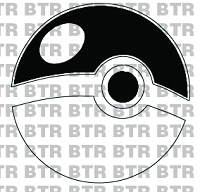 POKEMON GO-Pokeballs (Single Layer) Decal