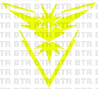 POKEMON GO- Team Instinct Decal