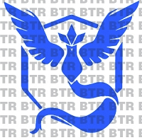 POKEMON GO- Team Mystic Decal