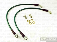 Enthuspec Performance REAR Stainless Steel Braided Brake Lines Hyundai Genesis Coupe 2010+