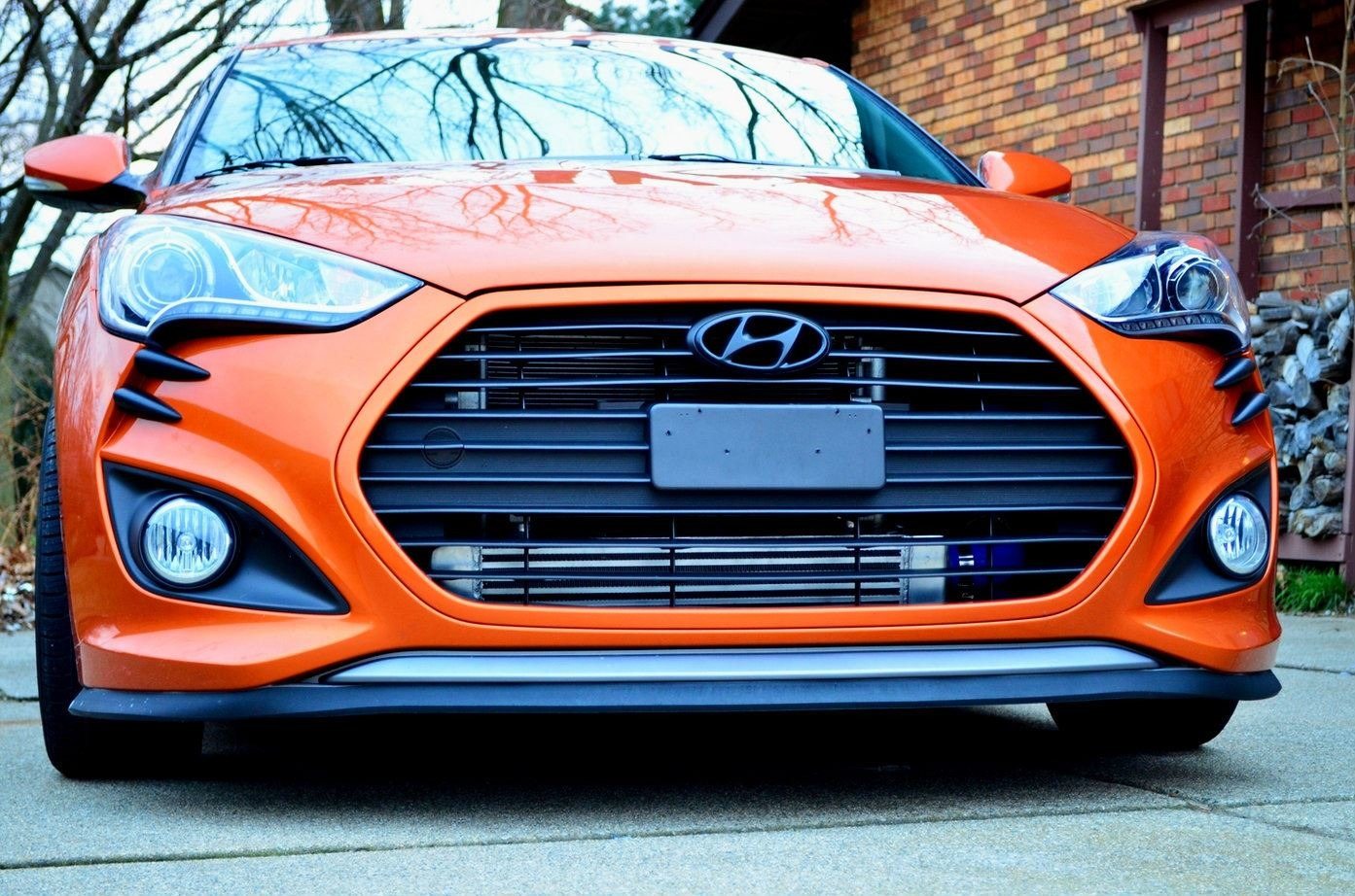 Ts Front Mount Intercooler Kit For 2013 Hyundai Veloster
