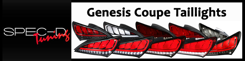 Genesis Coupe Tailights