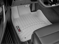 WeatherTech 2018+ Kia Stinger Front FloorLiner - Grey (RWD model)