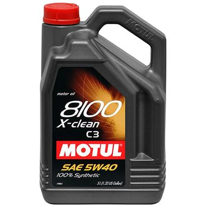 motul 5l synthetic engine oil 8100 5w40 x clean c3. Black Bedroom Furniture Sets. Home Design Ideas