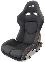 NRG Innovations Reclinable FRP Bucket Seat Black