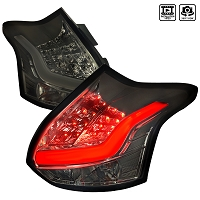 Spec D Taillights for 2013-14 Ford Focus ST (Smoke)