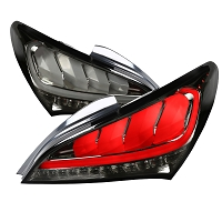 Spec D Tail lights For 2010-2016 Genesis Coupe (Smoke)