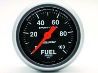 Autometer Sport-Comp Electronic Fuel Pressure Gauge 52mm 0-100 PSI
