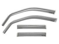 WeatherTech 2016+ Hyundai Tuscon Front and Rear Side Window Deflectors - Light Smoke