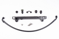 Radium Engineering 08-16 Mitsubishi Evo X OEM Configuration Fuel Rail Kit w /8AN Ports - Black