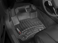 WeatherTech 2018+ Kia Stinger Front FloorLiner - Black (RWD model)