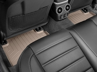 WeatherTech 2018+ Kia Stinger Rear FloorLiner - Tan (RWD model)