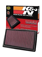 K&N 09 Hyundai Genesis 4.6L V8 Drop In Air Filter
