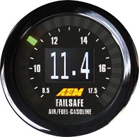AEM Universal Wideband Failsafe Gauge (Air/Fuel Ratios and Manifold Pressure)