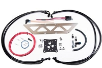 Radium Engineering 08+ Mitsubishi Evo X Fuel Surge Tank Kit (FST Not Incl)