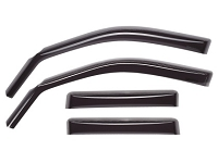 WeatherTech 2016+ Hyundai Tuscon Front and Rear Side Window Deflectors - Dark Smoke
