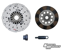 Clutch Masters 01-05 BMW M3 3.2 E46 6 Sp FX350 Clutch Kit Fiber Rigid Disc