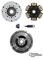 Clutch Masters 01-05 BMW M3 3.2L E46 FX400 Clutch Kit 6-Puck w/Steel Flywheel