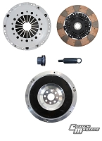Clutch Masters 01-05 BMW M3 3.2L E46 6spd FX400 Sprung F/F Ceramic Clutch Kit w/ Alum Flywheel