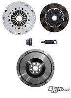 Clutch Masters 01-05 BMW M3 3.2L E46 Heavy Duty Sprung Lined Disc FX350 Clutch Kit w/ Steel Flywheel