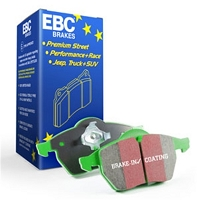 EBC Greenstuff 2000 Series Sport Brake Pads 2014-2019 Ford Fiesta ST (REAR)