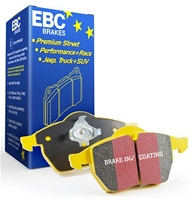 EBC 12+ Subaru BRZ/FRS Yellowstuff Rear Brake Pads