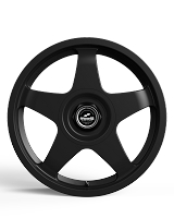 Fifteen52 Chicane 17x7.5 4x100/4x108 42mm ET 73.1mm Center Bore Asphalt Black Wheel Set (Fiesta ST Fitment)