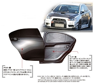 VARIS EVO X REAR DOOR, VSDC CARBON FIBER (PAIR OF DOORS)