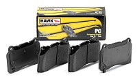 Hawk Performance Brake Pad Ceramic Front Set Focus ST 2013-2016