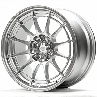 Enkei Wheel NT03+M 18x9.5 40mm Offset 72.6mm Bore Hyper Silver Wheel for Focus ST/RS (5x108) set