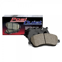 PosiQuiet 2001-2006 BMW M3 Base Rear Semi Metallic Brake Pads