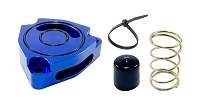Torque Solution Blow Off BOV Sound Plate (Blue): Hyundai Veloster Turbo