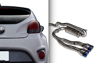 ARK Performance DTS Exhaust System for 2013+ Hyundai Veloster Turbo