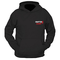Chapter 11 Classic Style Pullover Hoodie (Front Graphics Only)