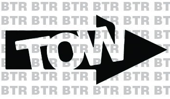 """TOW"" Arrow Right Decal"