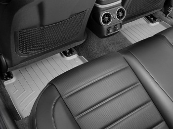 WeatherTech 2018+ Kia Stinger Rear FloorLiner - Grey (RWD model)