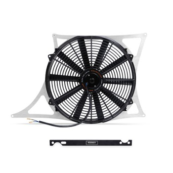 Mishimoto 01-06 BMW M3 E46 3.2L Aluminum Fan Shroud Kit w/ Probe