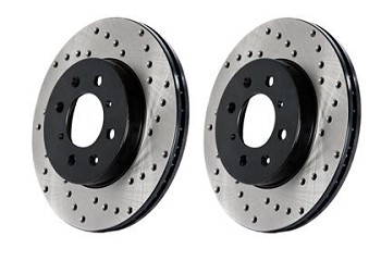 StopTech Drilled Sport Brake Rotor BRZ/FRS