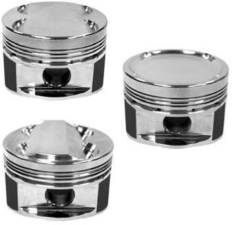 Manley 08+ Mitsubishi Evo X (4B11T) 86mm STD Bore 9.0:1 Dish Piston (Single Piston)