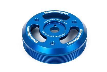 GrimmSpeed 15+ Subaru BRZ/FR-S Lightweight Crank Pulley - Blue