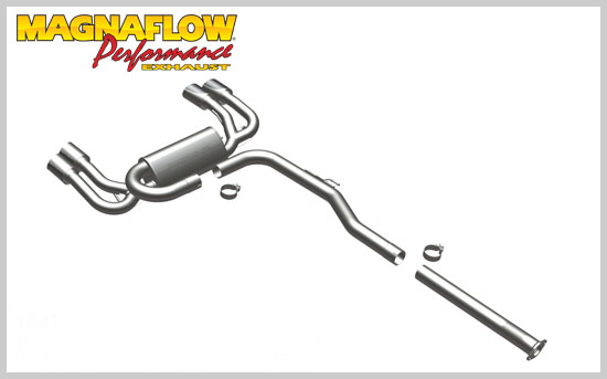 Magnaflow Cat-Back Exhaust for Genesis Coupe 2.0T