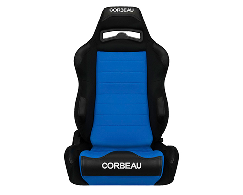 Corbeau LG1 Racing Seat Black/Blue Cloth