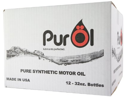 Purol Elite Synthetic Motor Oil 0W20 (Case: 1ltr 12 bottles)