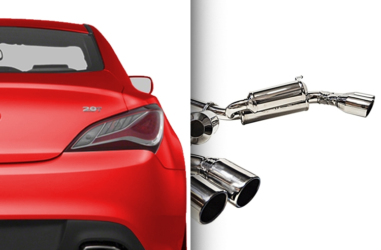 ARK Performance GRiP Exhaust System for 2010-2014 Hyundai Genesis Coupe 2.0T