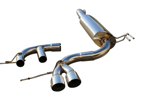 CNT Racing 12-14 Hyundai VELOSTER 1.6L (non turbo) Axleback Exhaust