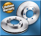 BP Standard Replacement Front Brake Rotors for 2013+ Hyundai Veloster Turbo (Set of 2)